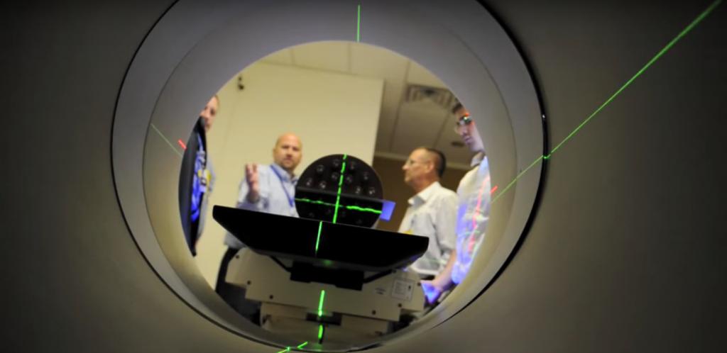 Tomoterapi IMRT Kreftbehandling