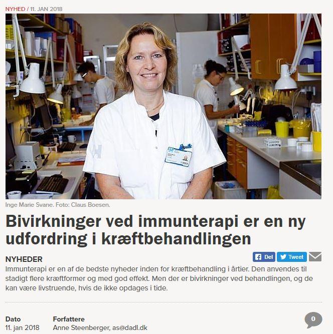 Bivirkninger og Immunterapi