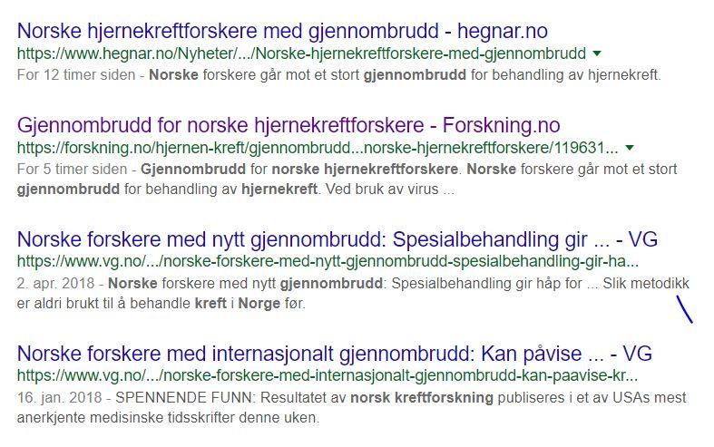 Viroterapi og Norsk selvgodhet